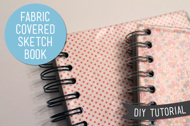 Diy Sketchbook Cover ~ Lula louise diy fabric sketch book cover tutorial