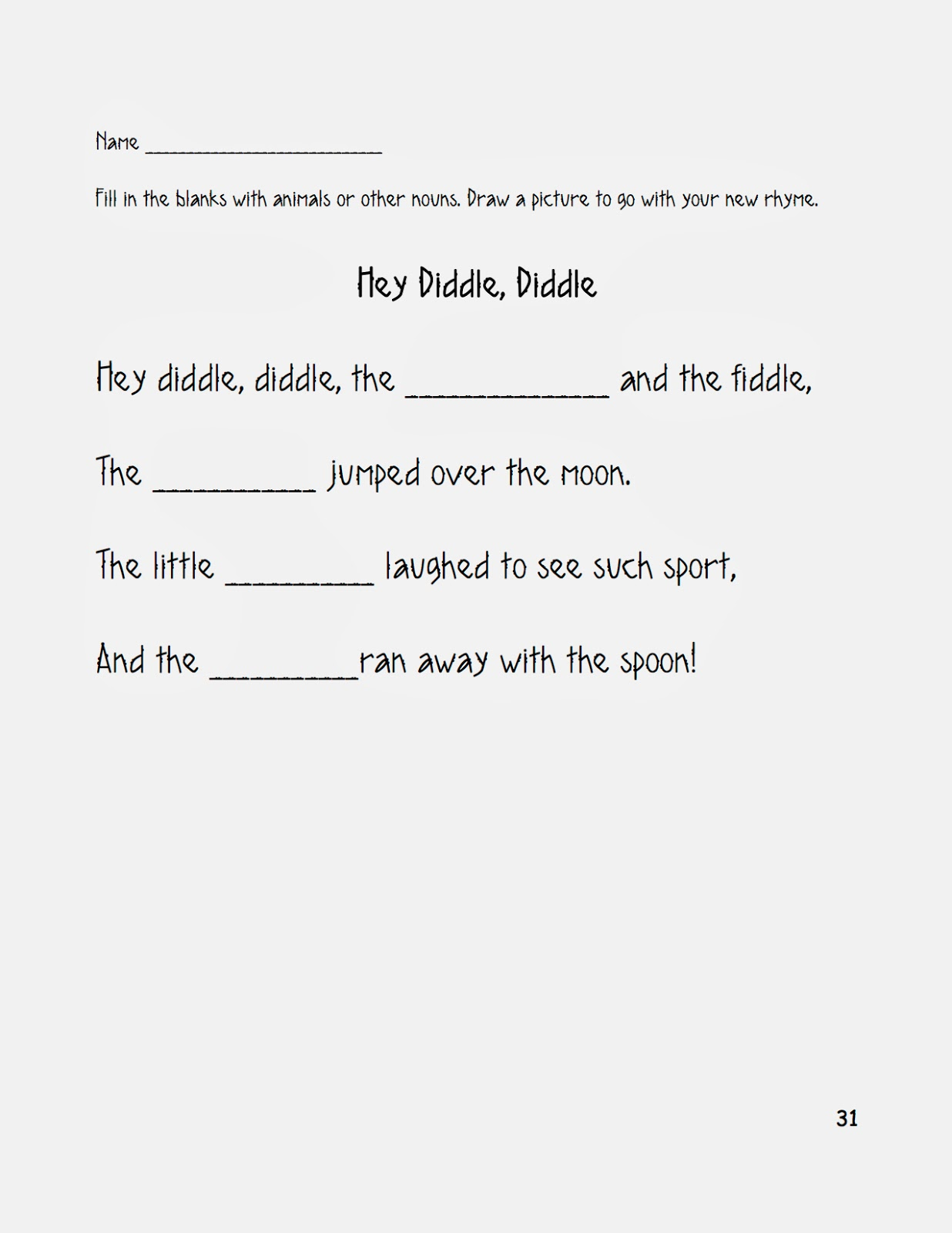 Free Worksheet Beethoven Lives Upstairs Worksheet nhcs music education november 2013 at the closing of this lesson i ask students to create a new version hey diddle diddle