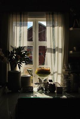 Högsåran Farmors Cafe - Herkkupöytä