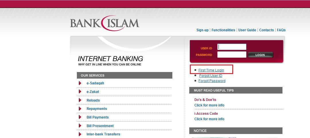 Sharing Is Power Macam Mana Nak Daftar Internet Banking Bank Islam