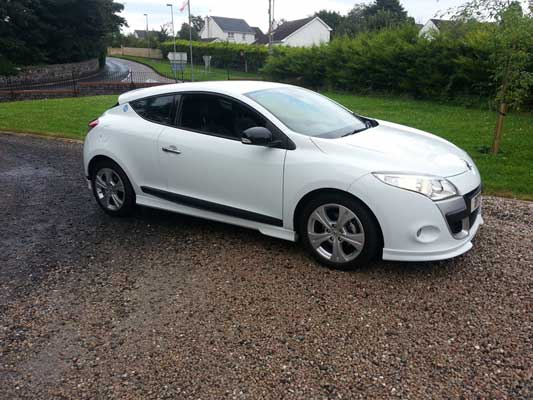 renault megane coupe 2010 1.5 dci remapped in south glos | quantum