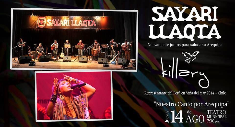 Sayari Llaqta en concierto