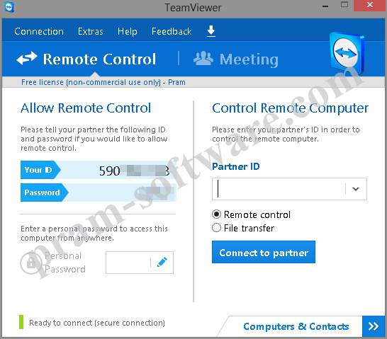 ScreenShot TeamViewer 9 Terbaru