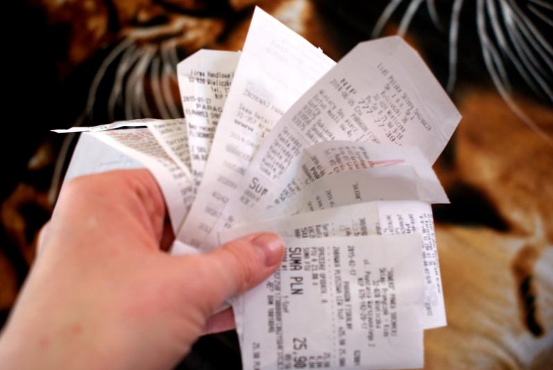 Paragonowa loteria rządowa.