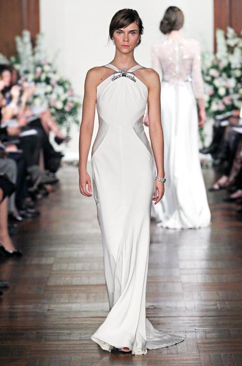 WhiteAzalea Sheath Dresses Jenny Packham Sheath Wedding Dresses Spring 2013