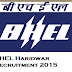ITI and Diploma Vacancy in BHEL Haridwar for 278 Trade Apprentice - BHEL Recruitment 2015
