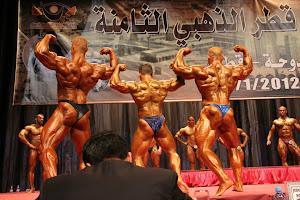 Tongkat Ali Nu-Prep 100' Bersama Mr Universe 7 Kali Sazali Abdul Samad ' Qatar Open 2012'