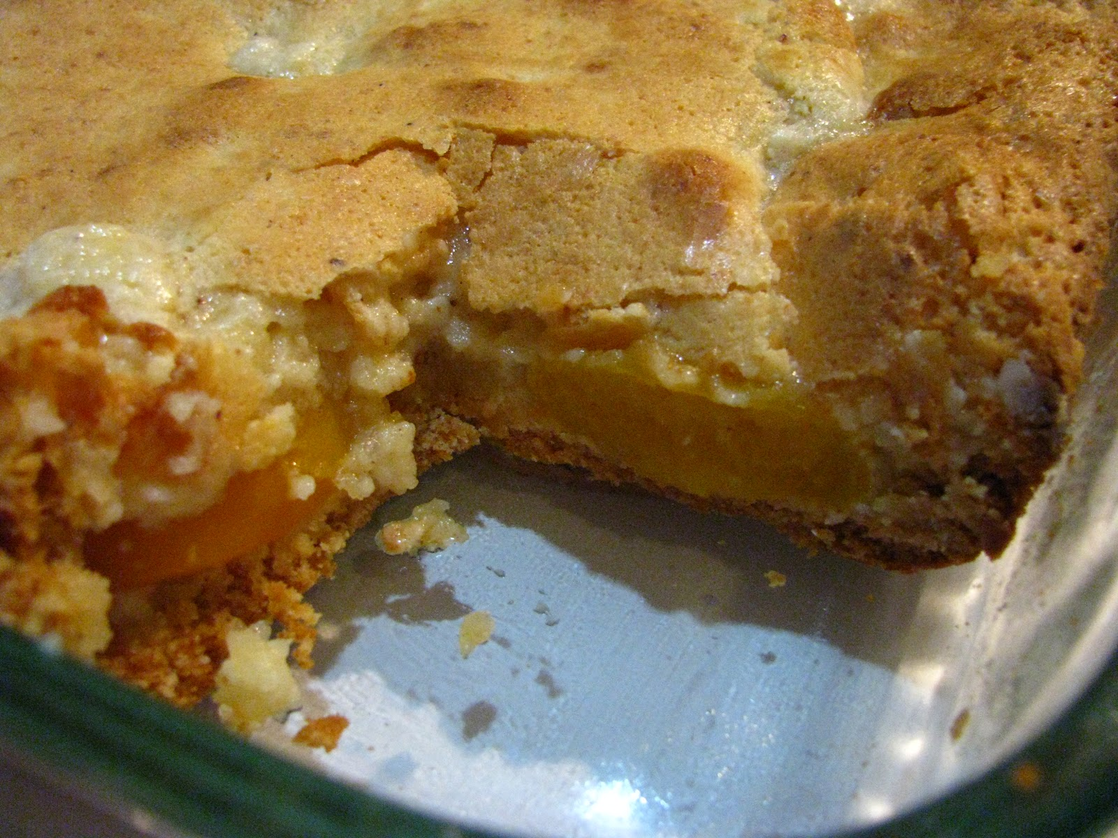 Gooey Peachy Butter Cake