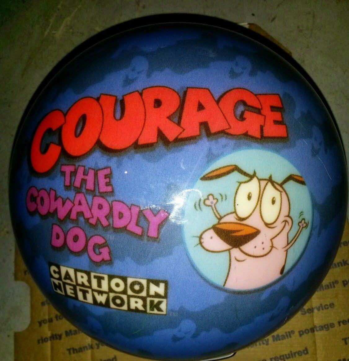 Viza-ball Kids Bowling Ball Courage the Cowardly Dog never drilled