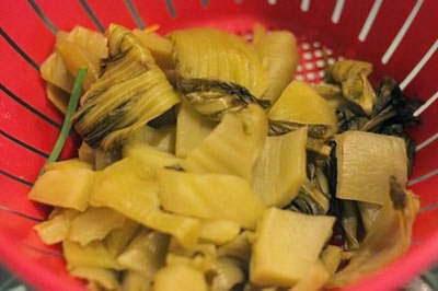 Vietnamese Food - Đậu Hũ Om Dưa Chua