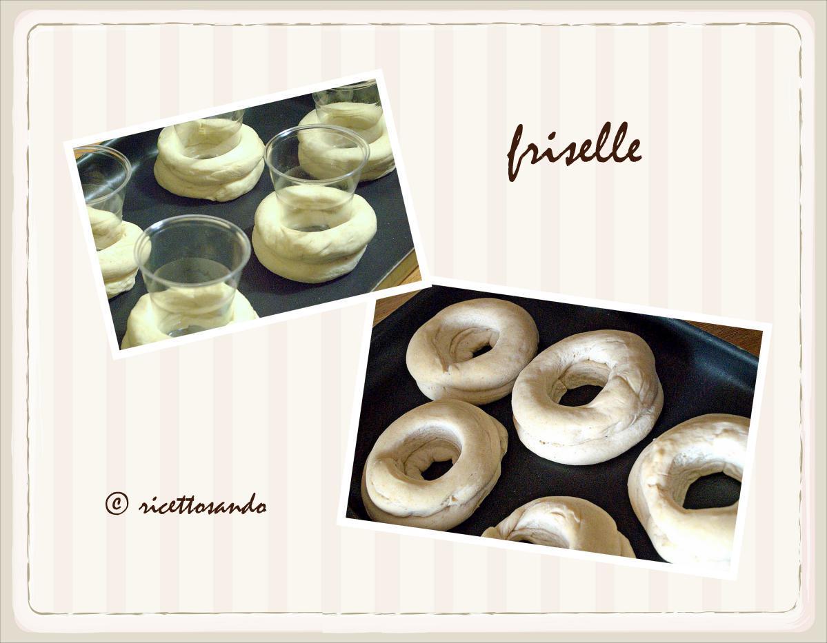 Friselle con lievito madre prepariamo le ciambelle lievitate per la cottura