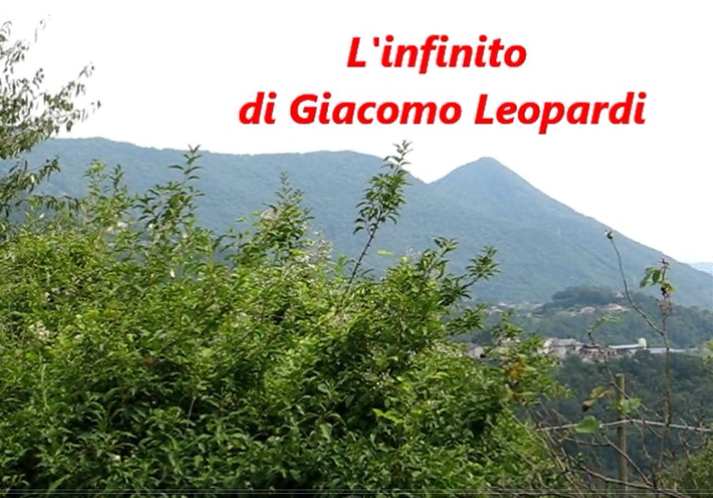 Romina Tamerici Video Poesie Quot L Infinito Quot Di Giacomo