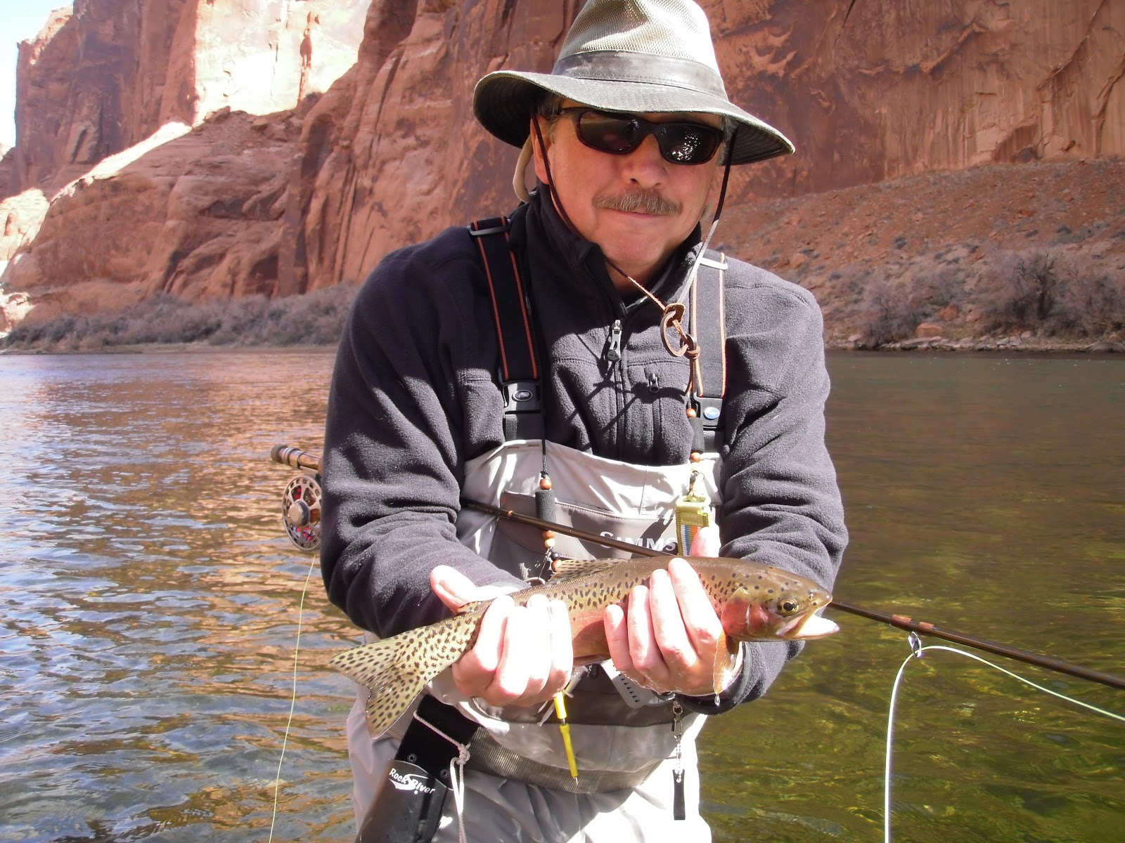 Lees ferry fishing report lees ferry az march 2013 for Lees ferry fishing report