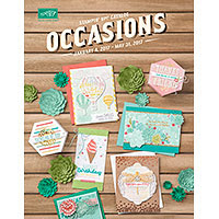 Stampin' Up! 2017 Occasions Mini Catalog Now Available (through May 31, 2017)