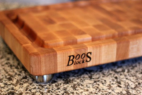 i was first introduced to boos cutting boards at mixedcon food blogger conference a few - Boos Cutting Board