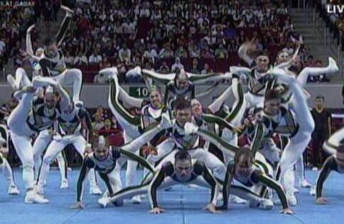 UAAP Cheerdance Competition 2013 - FEU Cheering Squad wilder