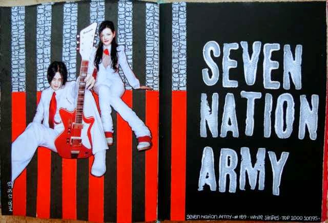 "Las mejores 500 canciones según NME: 16. The White Stripes – ""Seven Nation Army"""
