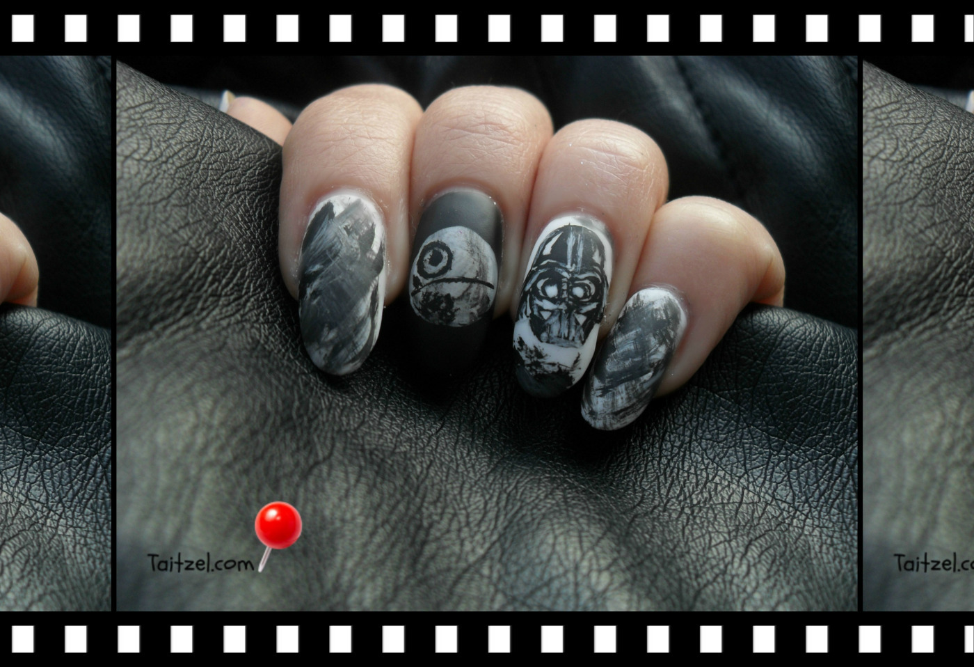 Nail art Marathon - Movie nails - Manichiura cu Star Wars - Taitzel ...