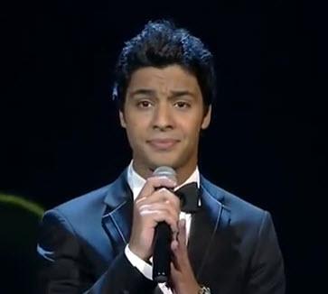 """فيديو: أغنية """"فقدتك"""" بصوت أحمد جمال 21-6-2013 عرب ايدول 2 والتي هي للفنان حسين الجسمي"""