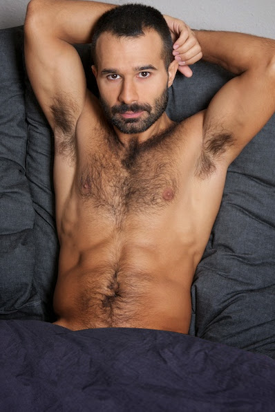Hand Some Hairy Muscle Hunks