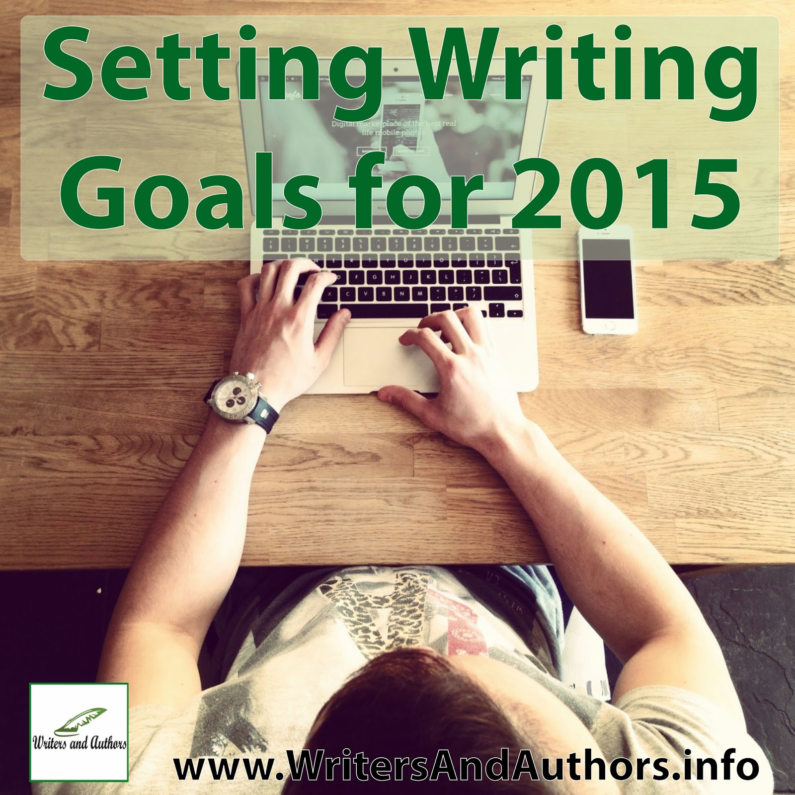Setting writing goals for 2015