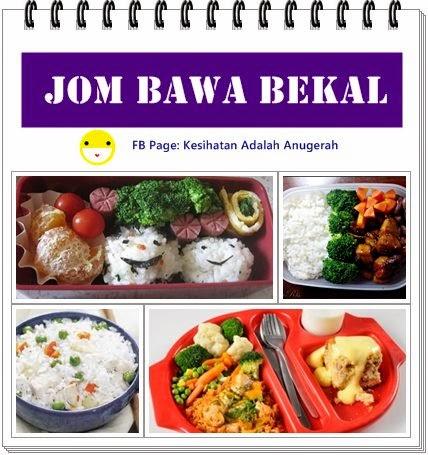 Bawa Bekalan Makanan Untuk Turunkan berat badan