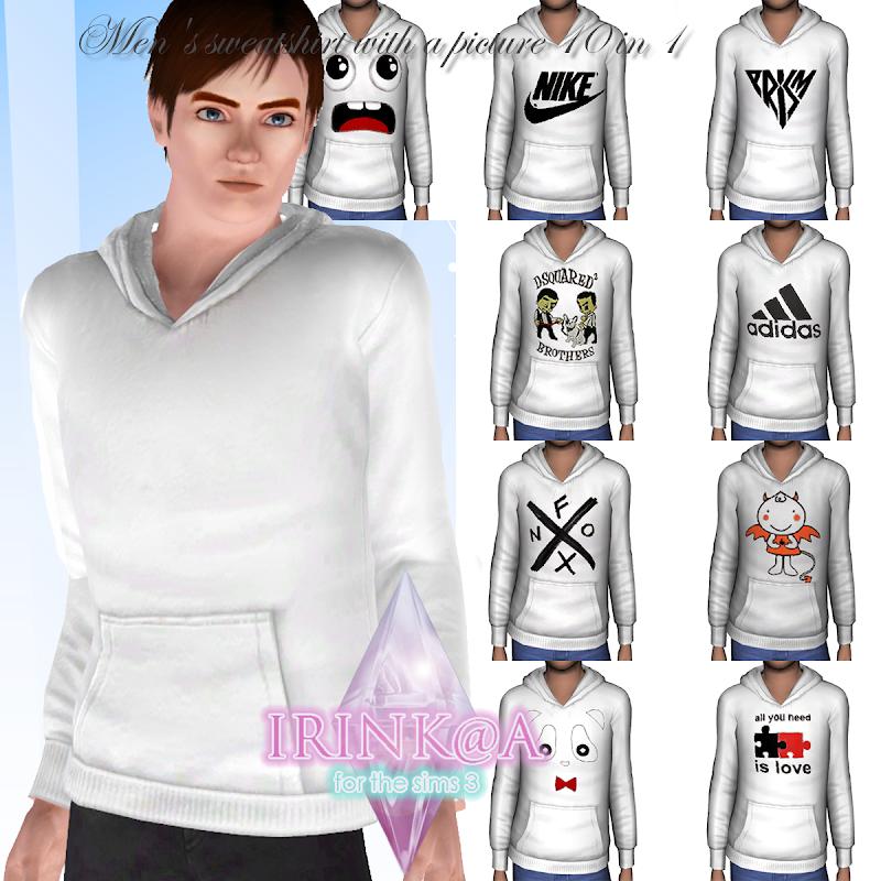 men s sweatshirt by irink @ a title=