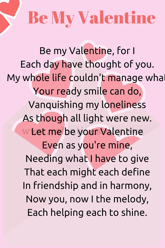Valentine Day Love Poem For Her