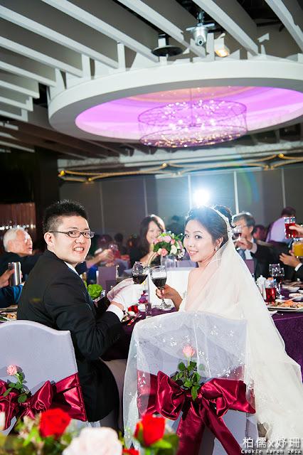 [ 婚禮紀實 ] 柏儒&妤珊迎娶午宴@台中金典酒店