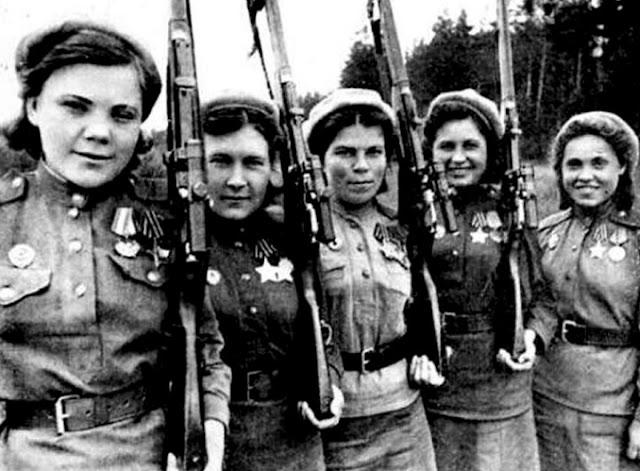 Roza Shanina, Legenda Sniper Wanita