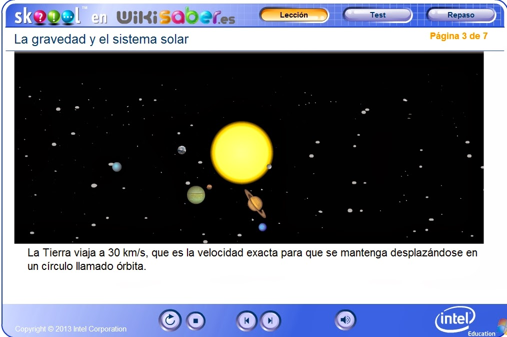 http://www.wikisaber.es/Contenidos/LObjects/gravity_solar_system/index.html