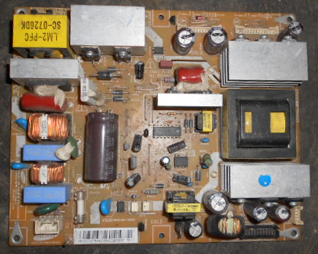 how to tell if tv power supply is bad