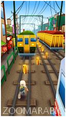تحميل لعبة المغامرات الشهيرة Subway Surfers