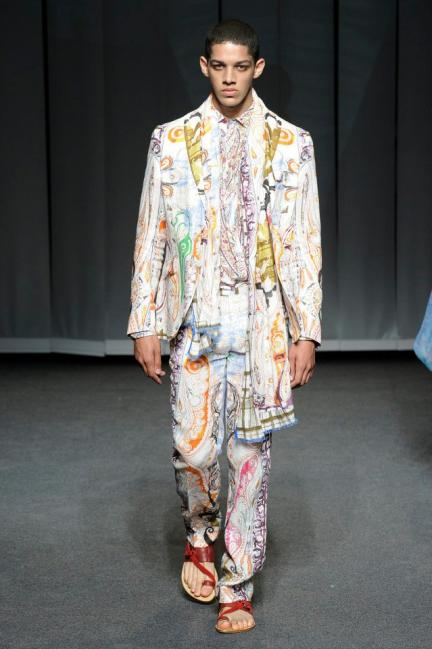 Etro Spring-Summer 2013 Menswear Photo 20