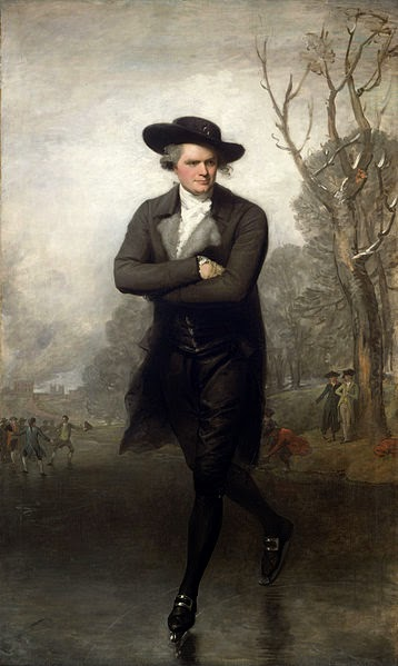 The Skater by Gilbert Stuart, 1782