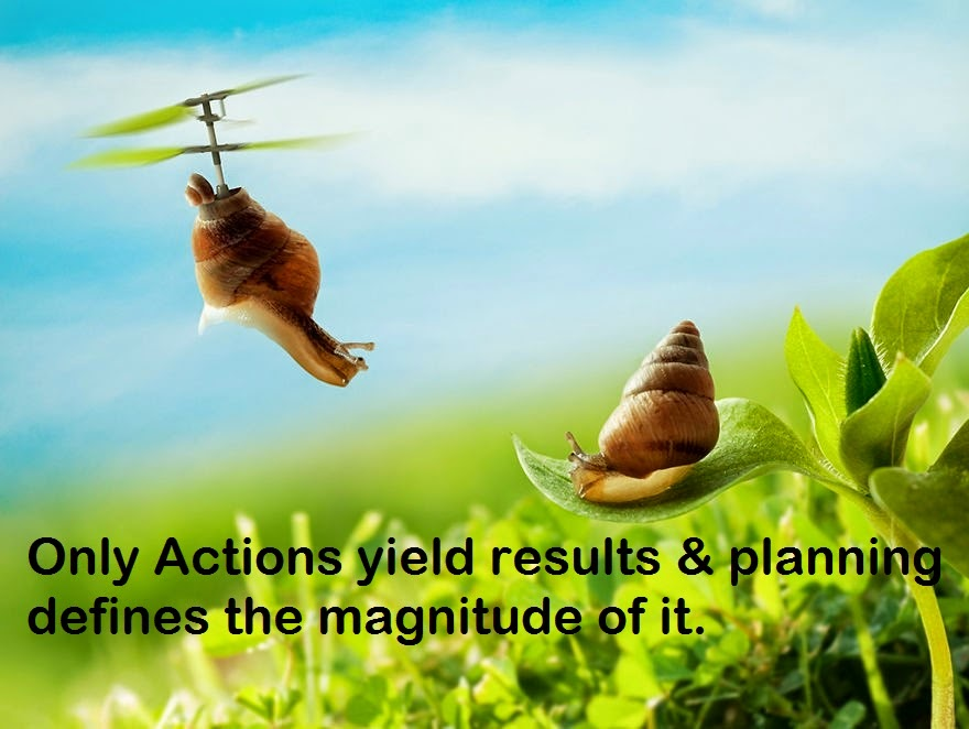 quotes read and learn only actions yield results