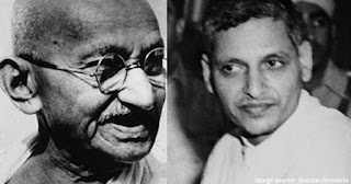 gandhi and godhse