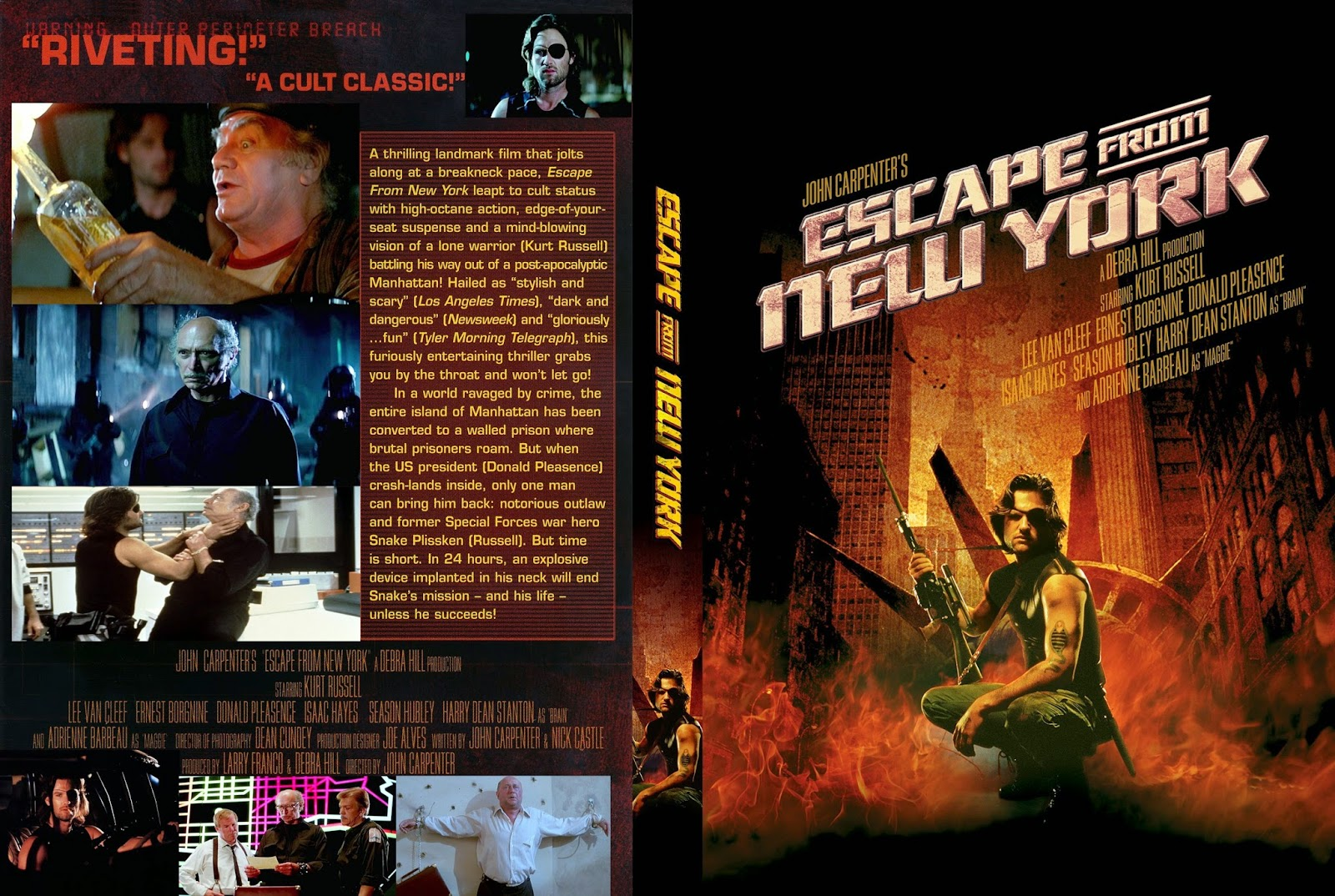 Escape from new york wallpaper