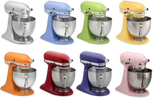 kitchen aid colores