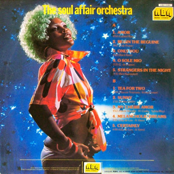 The Soul Affair Orchestra - Only You / Pepita