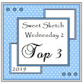 6 x Sweet Sketch Wednesday 2 Top 3