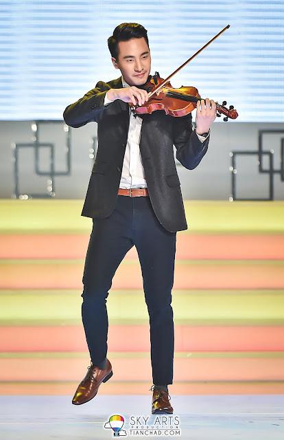 国际著名小提琴家Josh Kua于决赛表演助兴