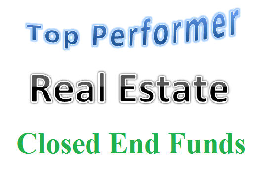 Top 8 Real Estate Closed End Funds