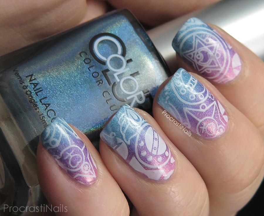 Nail Art Review Born Pretty Sailor Moon Stamping Plate Bp 49