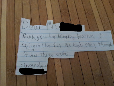 A #BagItForward donation needs a note of explanation - and thanks!