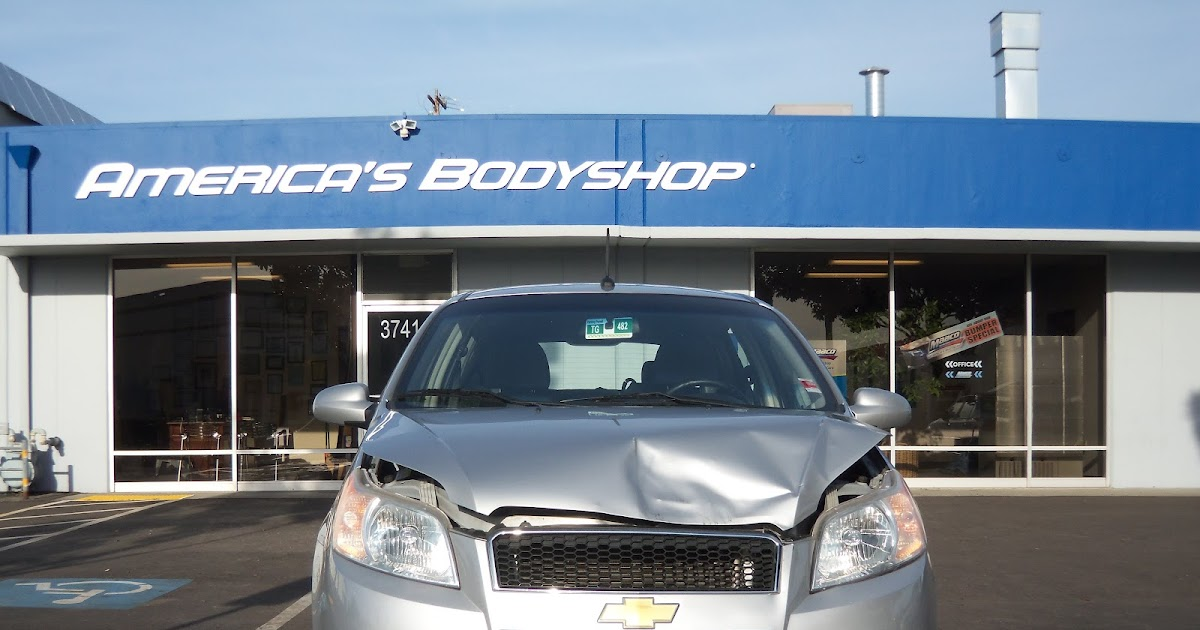 Almost everything car paint auto body collision repair for Fremont motors service department
