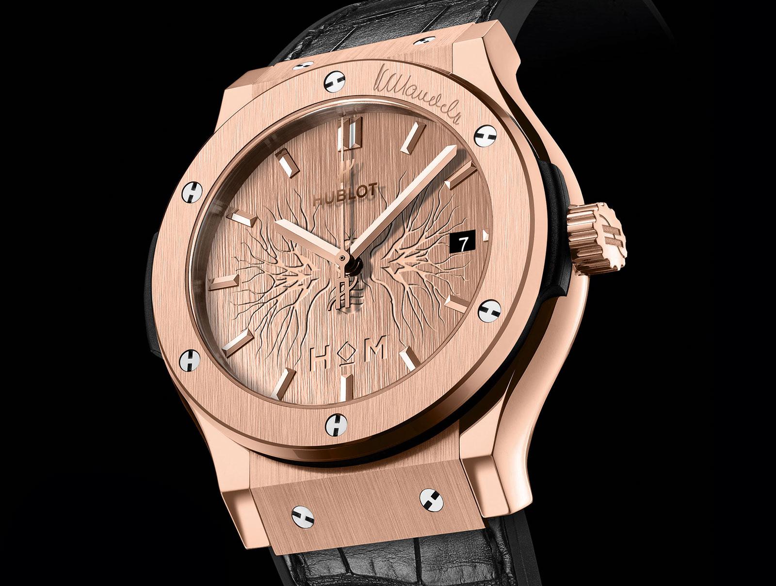 Hublot Unveils Classic Fusion Wristwatches To Honour Nelson Mandela