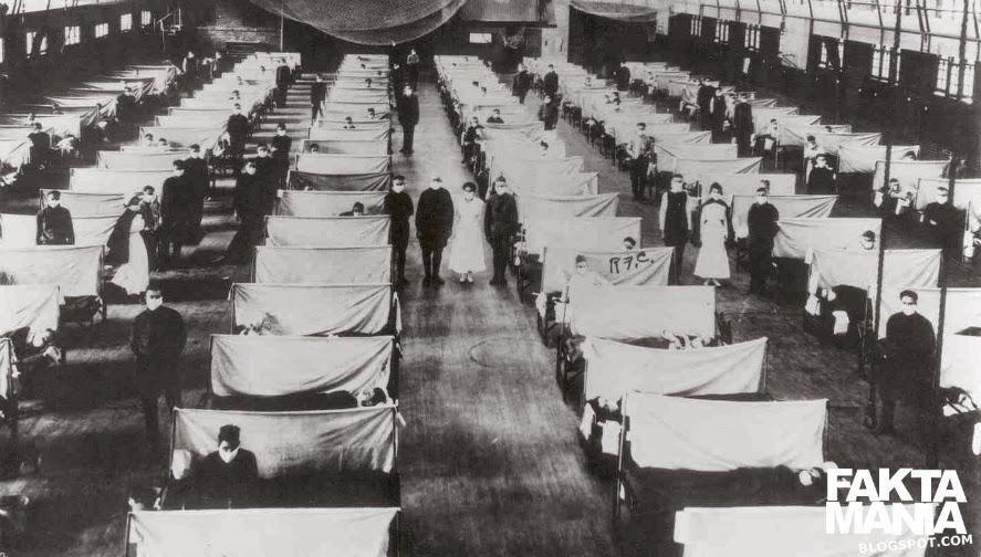 Wabah Flu Spanyol Tahun 1918 Sampai 1919