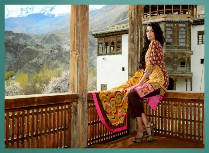 WardaSaleemLawn2014ByShariqTextile wwwfashionhuntworldblogspot 14  - Warda Saleem Lawn Collection 2014 By Shariq Textile