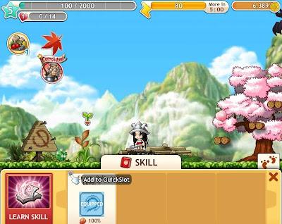 MapleStory Adventures - Adding Skill